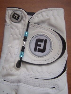 Golf Stroke Bead Counter - FITS ON GLOVE - KEEP TRACK Of STROKES EASILY - (Bead Track)