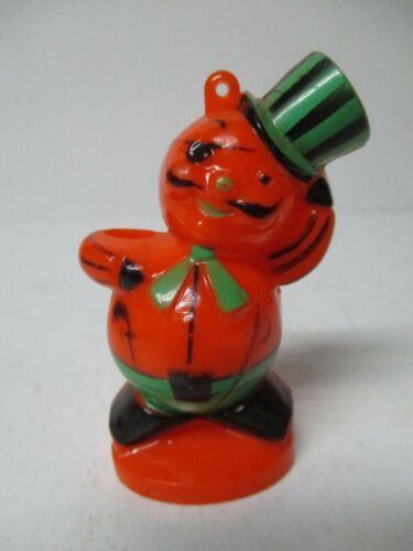 Vintage Halloween Hard Plastic - Pirate Cat JOL Lollipop Holder