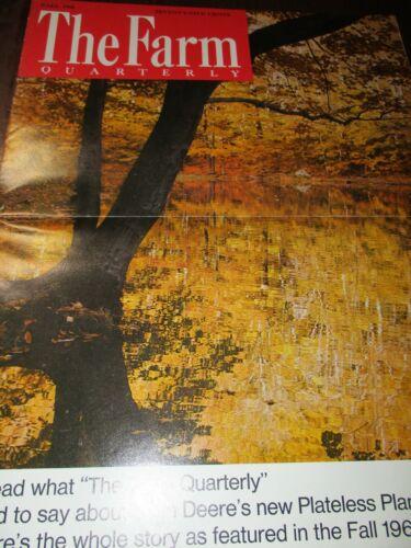 "John Deere ""The Farm Quarterly"" Magazine Fall 1968"
