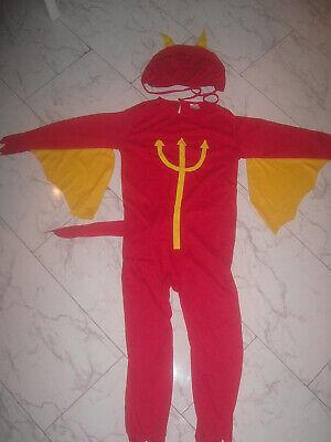 Kinder 7-10 Jahre TEUFELKOSTÜM einmal getragen hübsch - Hübsche Kostüm Kinder