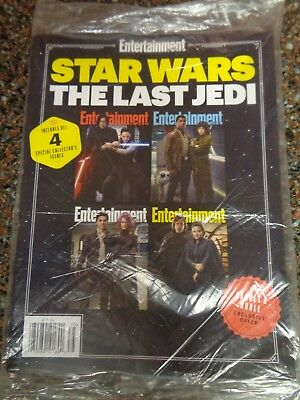 Star Wars Last Jedi Entertainment Weekly All 4 Covers Barnes Noble Exclusive NEW