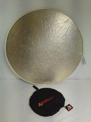 "Genuine Photoflex Multidisc 5-in-1 32"" Collapsible Reflector #6561"