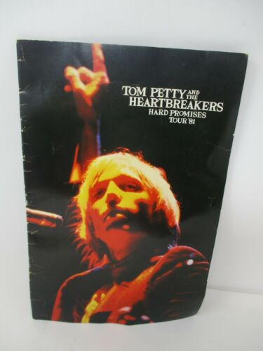 Tom Petty & The Heartbreakers Hard Promises 1981 Concert Tour Book