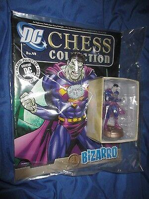 Eaglemoss Figure Magazine Dc Super Hero Chess Collection  44  Bizarro  Superman
