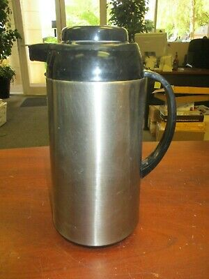 Used Thermal Hotcold Black Chrome Beverage Dispenser