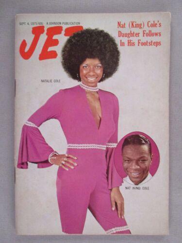 Jet Magazine - September 4, 1975 ~~ Natalie Cole, Nat King Cole
