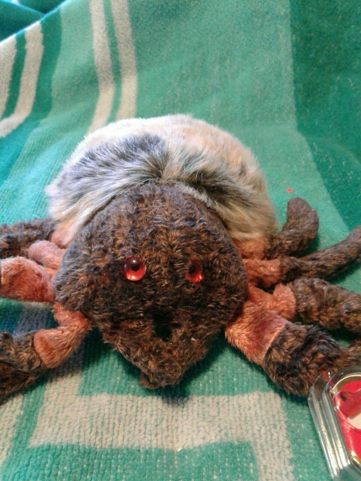 Beanbag Plush Ty Beanie Boo HAIRY the Spider 6 MWMT