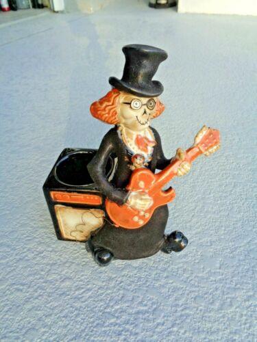 2010 Yankee Candle Boney Bunch Guitarist Halloween Mint