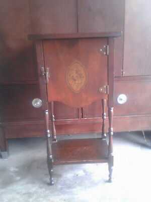 Antique 1910's/1920's CUSHMAN Tobacco Smoking Stand Humidor