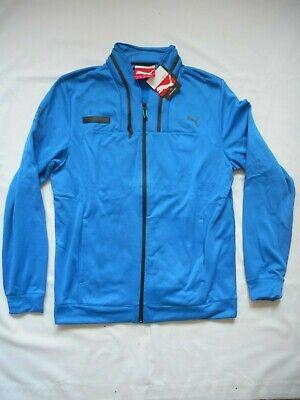 Brand New Men's Puma Mercedes AMG Blue XL Hooded Jacket RN 62220 BNWT