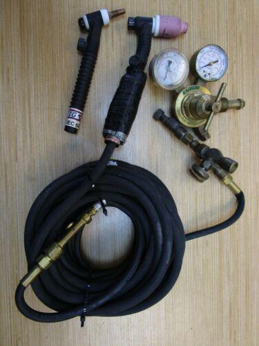 MILLER TIG Torch Kit - A-150V (2 pcs), Rubber, Radnor Regulator