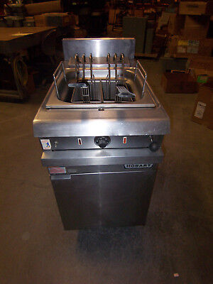 Hobart Hck40 Commercial Deep Fryer Natural Gas 3 Phase 480v Volt Oil
