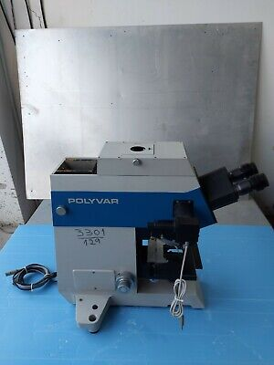 Reichert Jung Polyvar Met 300602 Microscope Wpk 10x For Parts Or Repair Only