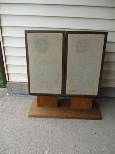 """Vintage Classic Small """"The Advent Speakers""""-All Working-Re-foamed!"""