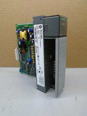 1746-no4i Allen Bradley Slc 500 Analog Output Module 1746-n04i W100