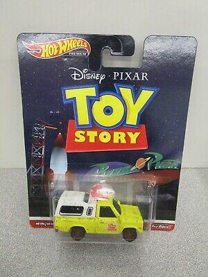 Hot Wheels Pizza Planet Truck Premium Diecast Car 1/64 Disney Pixar Toy Story
