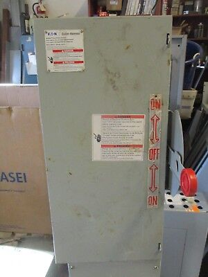 Cutler Hammer Dt222ugk 60 Amp 240 Volt 1 Double Throw Switch- Ats315