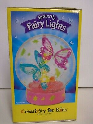 Fairy For Kids (CREATIVITY FOR KIDS #6212000 BUTTERFLY FAIRY LIGHTS NEW IN)