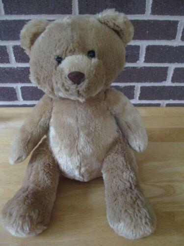 "Aeropostale Bear 14"" Tall Stuffed  Plush Tan Color"