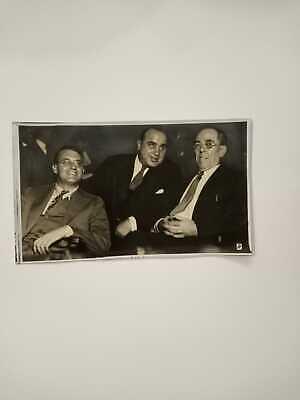 VINTAGE  AL CAPONE  MOBSTER GANGSTER  OUTLAW ORIGINAL PHOTO 1931