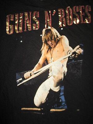 GUNS N' ROSES AXEL ROSE GNR (Girl's MED) Tank-Top Shirt