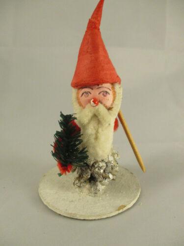 Vintage West Germany Pinecone Christmas Santa Pixie Gnome Elf