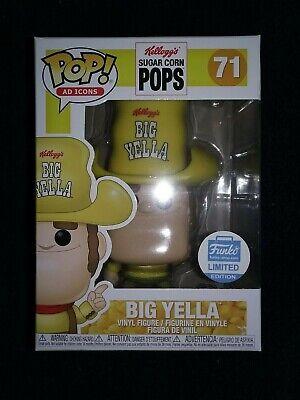 Funko Pop! Ad Icons Funko Shop Exclusive Kellogs Sugar Corn Pops BIG YELLA #71