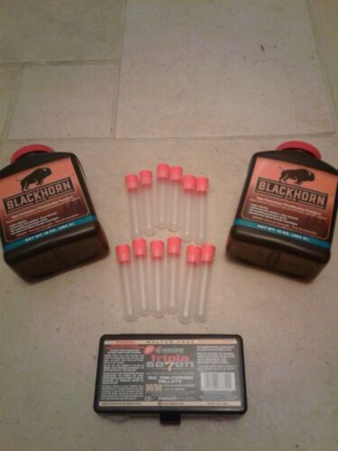 16 Blackhorn 209 Black Powder Charge Tubes