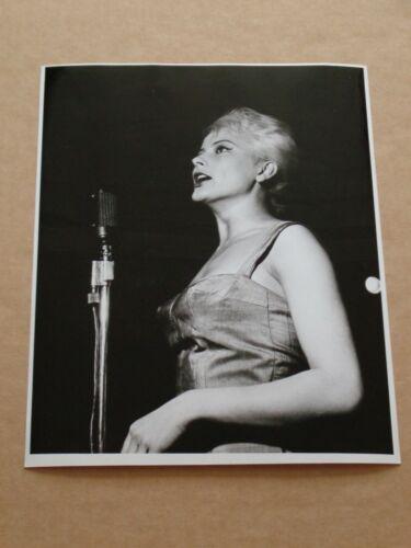Monica Zetterlund 10 x 8 1959 Agency Publicity Photo (1)