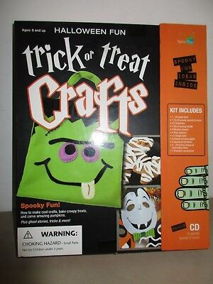 Spicebox Halloween Fun Trick or Treat Crafts Kit Child Party Ideas CD Ages 8 Up