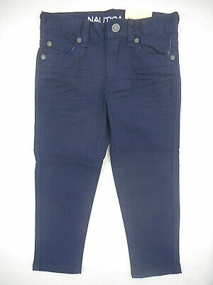 Toddler Boys Nautica $36.50 Sport Navy Skinny Fit/Stretch Denim Jeans Size 2T-4T