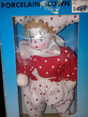 Vintage Porcelain Clown *Woolworths NY