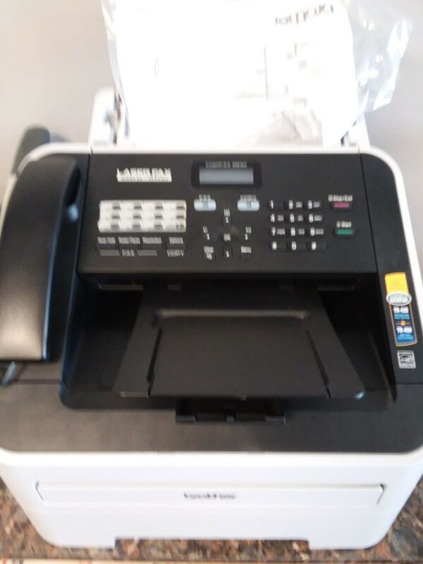 Preowned Brother IntelliFAX FAX2840 High-Speed Laser Fax, Print, Copy Machine