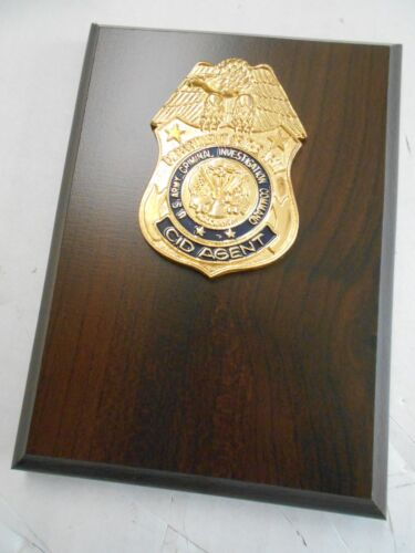 US Army CID Shield  -     PLAQUE BOARD