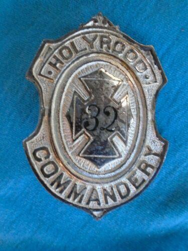 Holyrood Commandery (Masonic) belt buckle