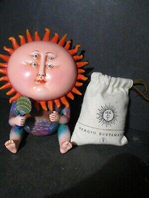 SERGIO BUSTAMANTE SUN SCULPTURE LK