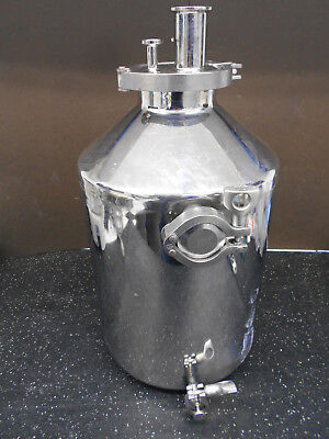 Eagle Stainless Pressure Vessel Container Btb-27 20 Liter Capacity