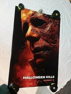HALLOWEEN KILLS Movie Poster original 27x40 D/S 2 sided TEASER Jamie Lee Curtis