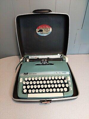 Used Smith-Corona Riviera Manual Typewriter, Works Great, w.Case, Free Shipping!