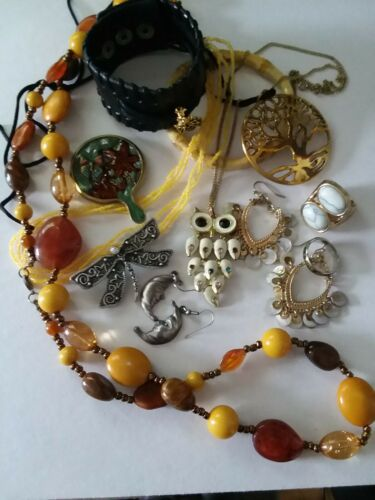 Cosplay Jewelry Hippie Boho Dress Up Natural Tree Hugger Free Spirit