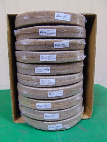 "20 New 15"" 1800 Grit Brulin Floor Scrubber Burnishing Pads"