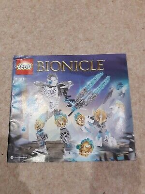 Lego bionicle ice figures two pack with Instructions
