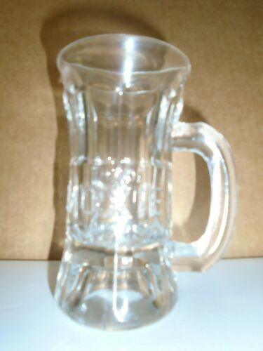 Moxie Soda Embossed Trade Mark Advertising Mug Soda Vintage Glass