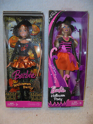 Barbie Halloween Party (New Barbie Halloween Party  Mattel Barbie Dolls # K8896 &)