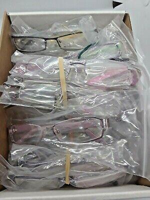 LOT 20 EYEGLASS FRAMES  MIX SIZES & COLORS LOT, FREE (Circle Eyeglass Frames)