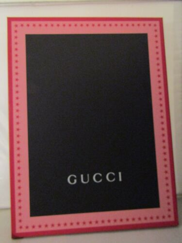 Authentic GUCCI Empty Box Only for Scarves, Shirts, etc. Pink & Red w/ Stars!NEW