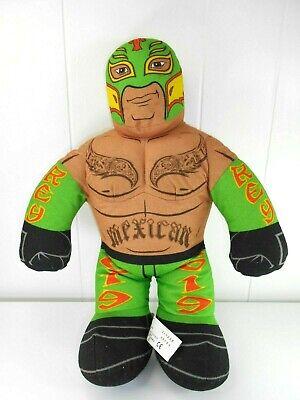 """WWE Ray Mysterio Brawlin' Buddies Plush Dolls 16"""" 2011 Wrestling Event Toy"""