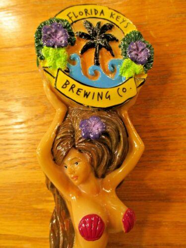 Beer Tap Florida Keys Brunette Mermaid Handle Brand New in Original Box