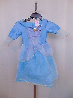 Girl's Barbie Princess Dress Dress-up Halloween Costume 4-6X Small #183 (Dress Up Halloween Barbie)