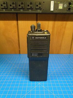 Motorola Mts2000 Radio H01ucd6pw1bn 806-870 Mhz